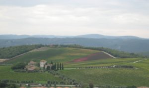 View of Brolio