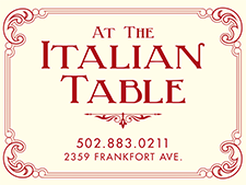 At The Italian Table